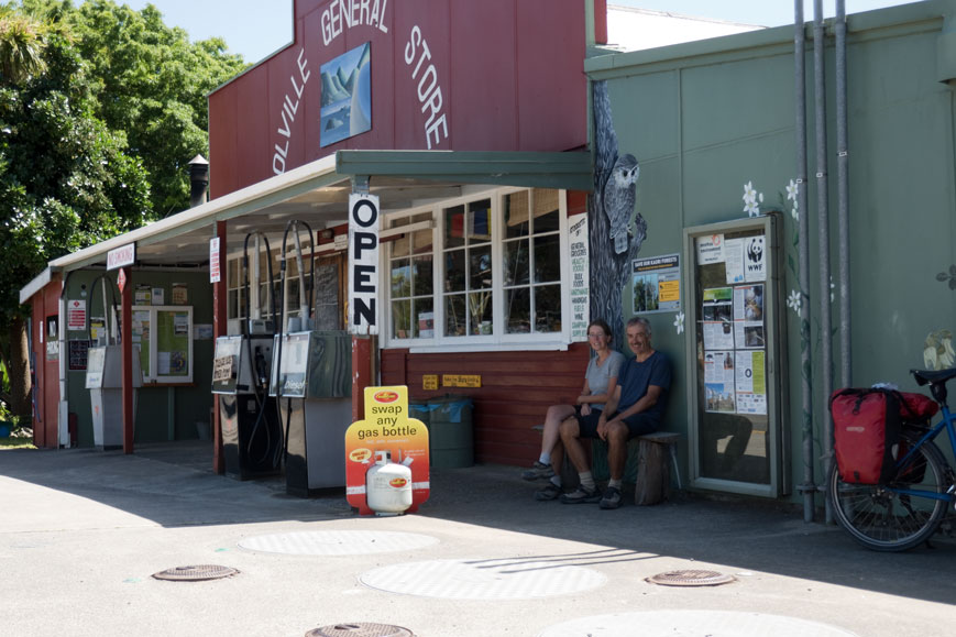Store in Colville auf der Coromandel-Halbinsel, Nordinsel Neuseeland