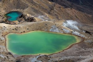 Emerald Lakes, Neuseeland Nordinsel, Tongariro Nationalpark