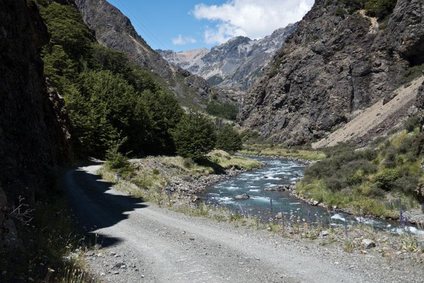 Rainbow Road im Hell's Gate, Neuseeland Südinsel