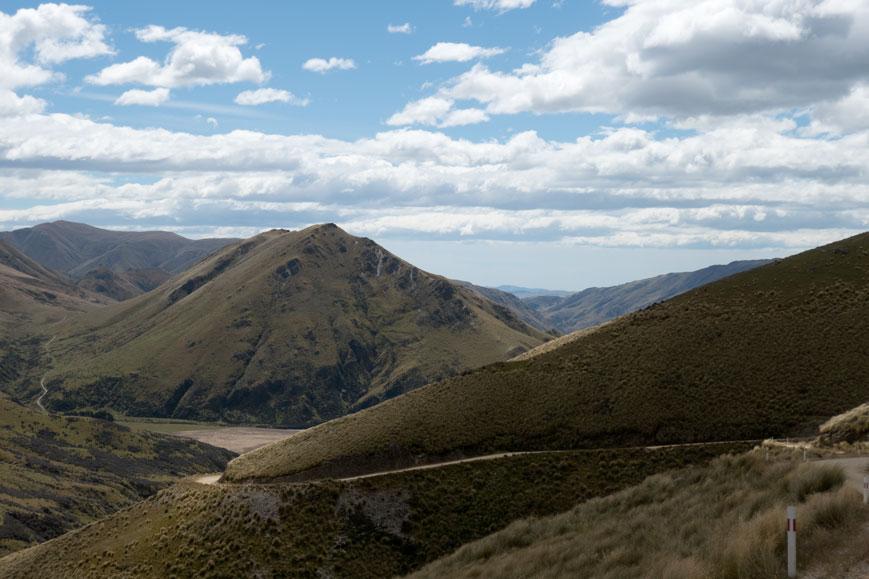 Piste zum Danseys Pass, Neuseeland Südinsel