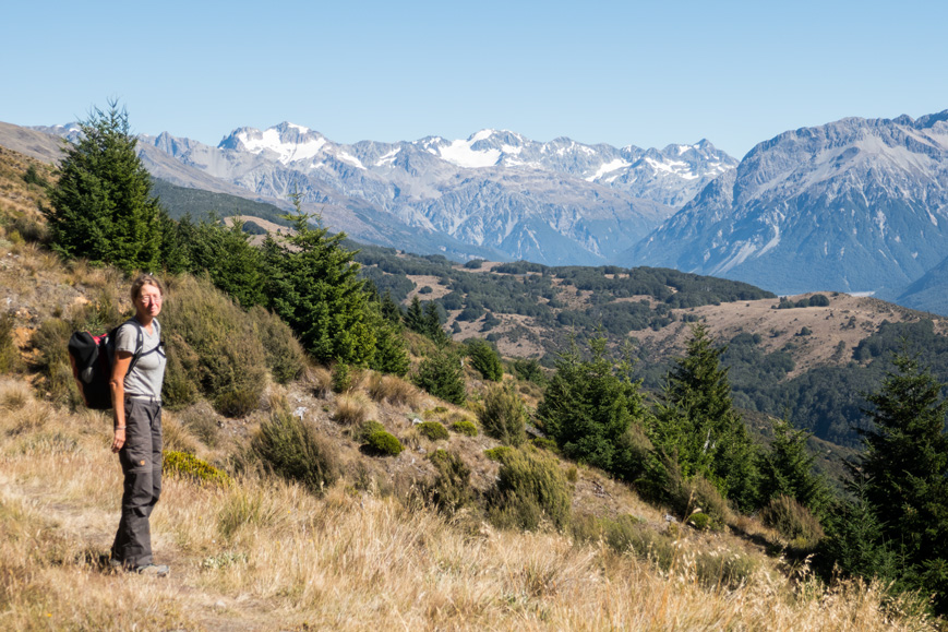 Wandern am Arthur's Pass, Neuseeland Südinsel