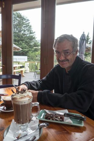 Heiße Schokolade zum Abschied von Neuseeland