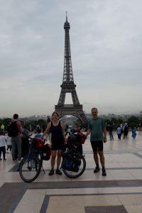 Start in Paris zum Le Mont St.Michel