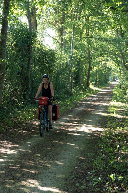 Auf Bahnradwegen von Paris zum Le Mont St.Michel