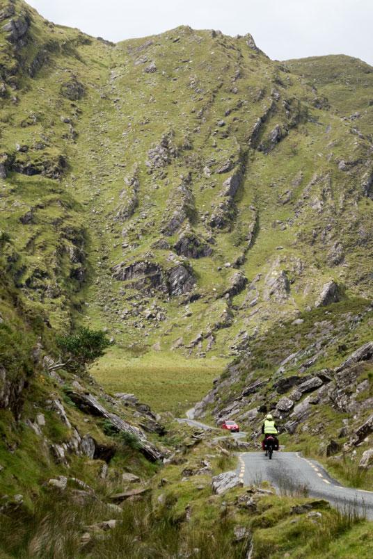 Ballaghbeama Gap auf der Halbinsel Iveragh