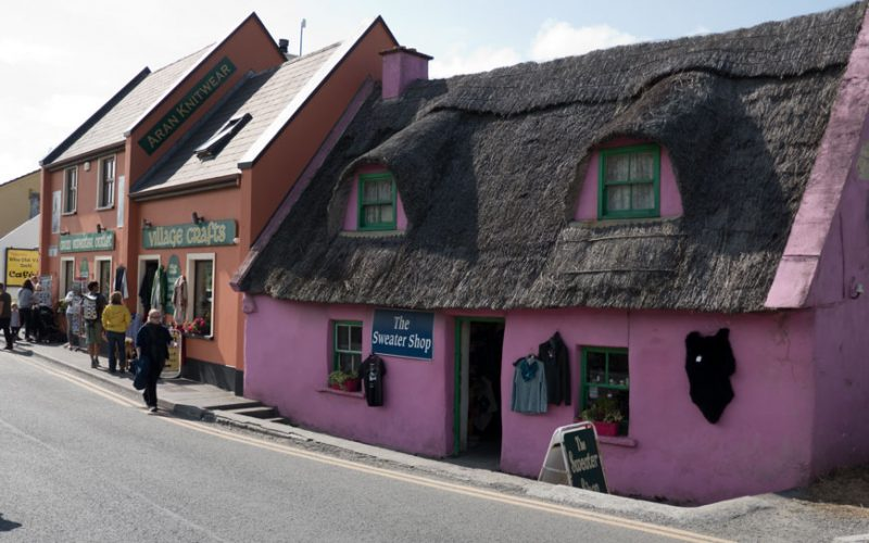 Die touristische Meile in Doolin
