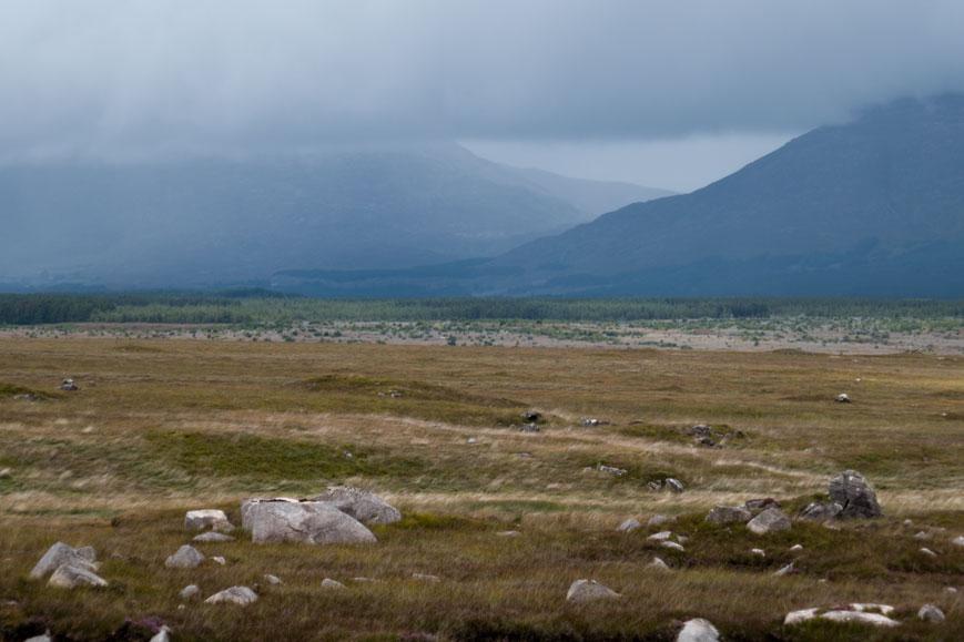 Berge bei Connemara