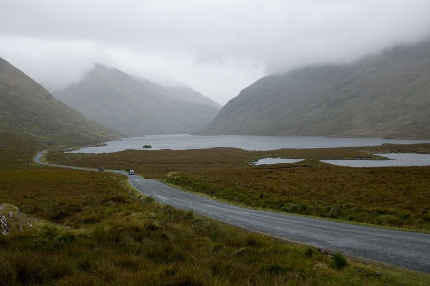 Mweelrea Mountains nördlich von Connemara