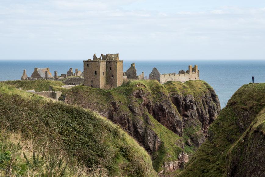 Dunnottar Castle bei Stonehaven südlich von Aberdeen