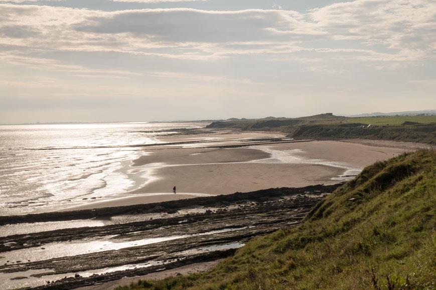Küste zwischen Berwick und Newcastle