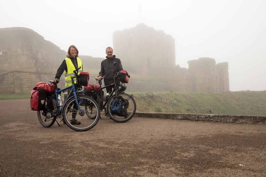 Burg in Tynemouth bei Newcastle