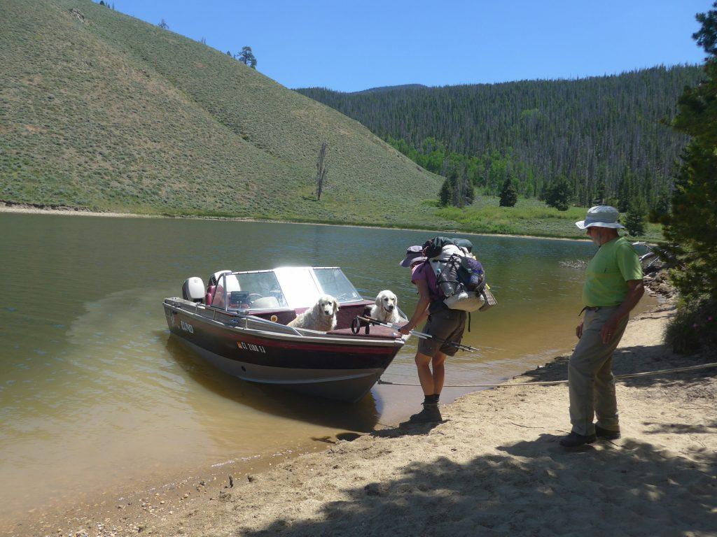 Per Anhalter über den Colorado River
