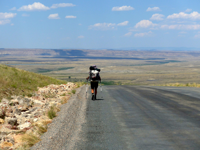 Unendlich weit immer geradeaus im Great Basin