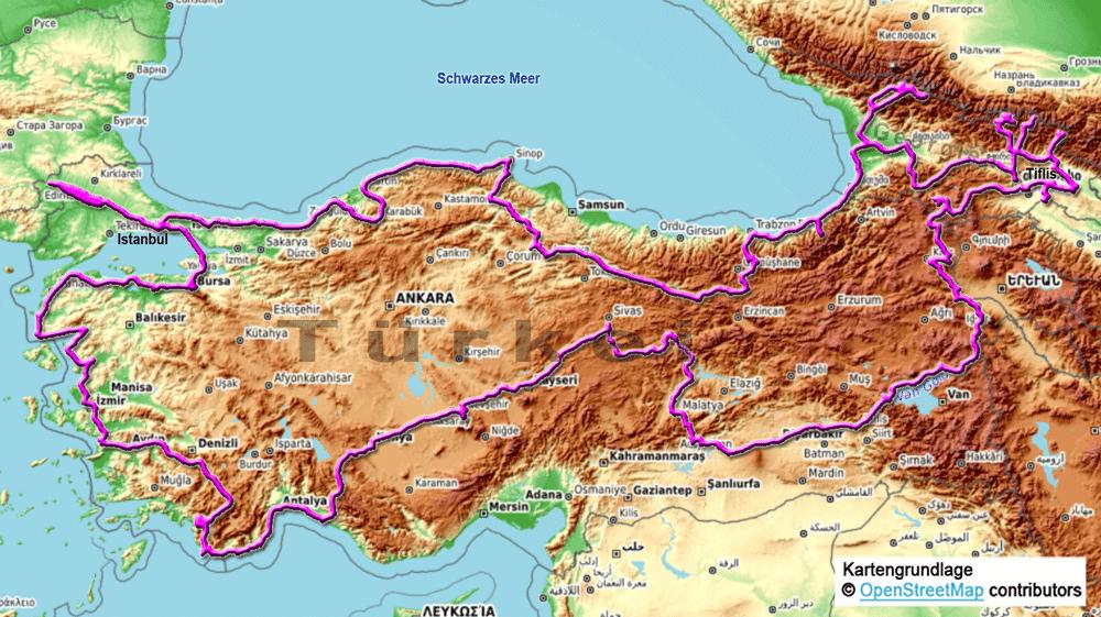 Unsere Rundreise durch die Türkei und Georgien im Jahr 2019